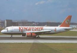 Kingfisher Airlines Mumbai, India Airbus A320-232 F-WWBG - 1946-....: Era Moderna