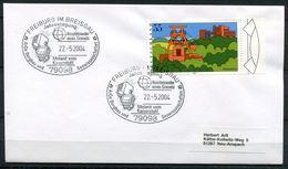 """Germany 2004 Sonderbeleg Mineralien Mit Mi.Nr. 2355 Und SST""""79098 Freiburg-Melanit Vom Kaiserstuhl """"1 Beleg - Mineralien"""