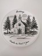 Assiette, Dudelange, Chapelle Du Mont St. Jean, Numere Et Signé - Postkaarten