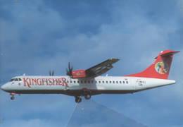 Kingfisher Airlines Mumbai, India ATR-72-210A F-WWEI At Toulouse - 1946-....: Era Moderna