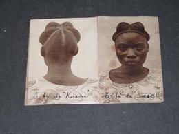 CONGO - COIFFURE ETHNIQUE DE FEMME KASAI - - Afrique