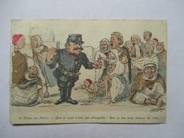 CHAGNY    - LA POLICE AU  MAROC     ......         TTB - Chagny