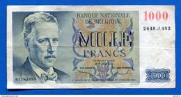 Belgique  1000 Fr - [ 2] 1831-... : Royaume De Belgique