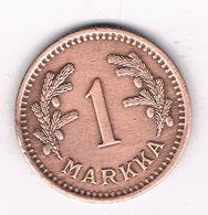 1 MARKKA 1941 FINLAND /3980/ - Finlande