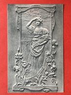 ART NOUVEAU - FABRIQUE DE CHAPEAUX - M. MATHOT - RUE JESUS 19 - ANVERS - SPECIALITE POUR ENFANTS  FOURNITURES POUR MODES - Pubblicitari