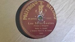 78T Chanson  Argentine - Senor A.Gobbi - 78 Rpm - Schellackplatten