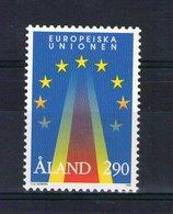Aland. Admission Au Sein De L'UE - Aland