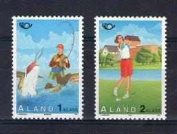Aland. Norden 95. Tourisme. Pêche Et Golfeuse - Aland