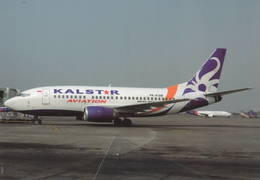 Kalstar Aviation Indonesia B.737-592 PK-KSM At Jakarta - 1946-....: Era Moderna