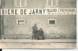 MEUSE - VERDUN - BIERE DE JARNY  TELLIER ENTREPOSITAIRE 30 RUE DE L'HOTEL DE VILLE  RARE - Verdun