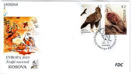 Kosovo Stamps 2019. Europa CEPT: National Birds. FDC Set MNH - Kosovo