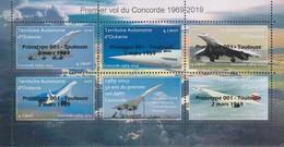"""Concorde - Feuillet Surchargé """"Prototype 001"""" - Edition Limitée  - Territoire Autonome D'Océanie - Concorde"""