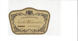ETIQUETTE  CHAMPAGNE SOULLIEZ CHATELAIN  A BINSON ORQUIGNY  ****   RARE  A  SAISIR * - Champagne