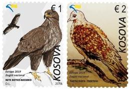 Kosovo Stamps 2019. Europa CEPT: National Birds. Set MNH - Kosovo