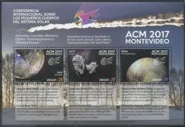 Uruguay 2017 Space, Solar System - Uruguay