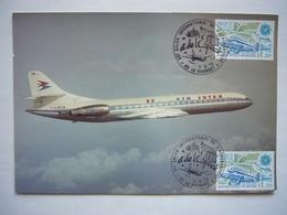 Avion / Airplane / AIR INTER / Caravelle / Photo Size 12,5X17,5cm - 1946-....: Ere Moderne