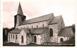 STUD-HALTINNE   église Romane Classée.  Carte Photo. - Gesves