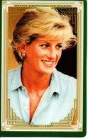 Princesse DIANA Princess Lady Di Angleterre Carte Prépayée (G 143) - Personnages