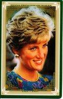 Princesse DIANA Princess Lady Di Angleterre Carte Prépayée (G 145) - Personnages