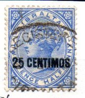 Sello Nº 18 Gibraltar - Gibraltar