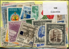 Lot 100 Timbres Colombie - Timbres