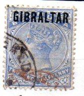 Sello Nº 4  Gibraltar - Gibraltar