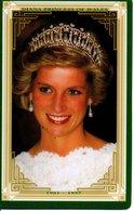 Princesse DIANA Princess Lady Di Angleterre Carte Prépayée (G 149) - Personnages