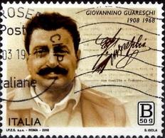 Italia 2018 Giovannino Guareschi - 6. 1946-.. Repubblica
