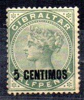 Sello Nº 15  Gibraltar - Gibraltar