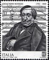 Italia 2018 Gioachino Rossini - 6. 1946-.. Repubblica