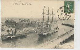 BATEAUX - DIEPPE - Entrée Du Port - Voiliers