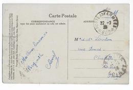 LIBAN - 1926 - CARTE FM De BEYROUTH Avec CACHET Des ARMEES SP 600 => CHALETTE (LOIRET) - Liban