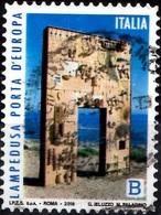 Italia 2018 Lampedusa Porta D'Europa - 1946-.. République