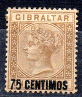 Sello Nº 21  Gibraltar - Gibraltar