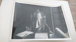 Photo 13x18 Désire Brumbt Maire De Haguenau En 1944 - Identified Persons