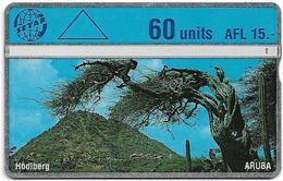 Aruba - Setar - L&G - Hoolberg - 409C - 1994, 60U, Used - Aruba