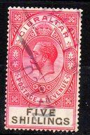 Sello  Nº 86  Gibraltar - Gibraltar