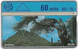 Aruba - Setar - L&G - Hoolberg - 503B - 1995, 60U, Used - Aruba