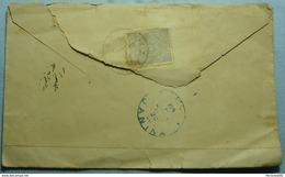 1891 Albania - Greece - Turkey Cover Sent From SERES To JANINA With OTTOMAN - TURKEY Stamp 1 PIASTRES - Albania