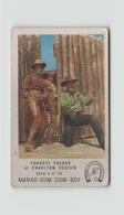 IMAGE MANAR GUM COW BOY FORREST TUCKER ET CHARLTON HESTON - Old Paper