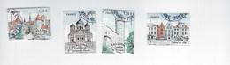 Capitales Européennes Tallinn 5212 à 5215 Oblitérés 2018 - France