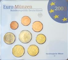 492 - COFFRET BU EUROS ALLEMAGNE 2003 J - 1 Cent à 2 Euros - Allemagne