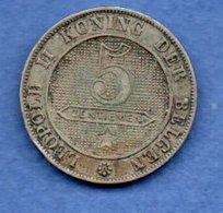 Belgique  -  5 Centimes 1894  -  Km # 41  -  état  TB - 1865-1909: Leopold II