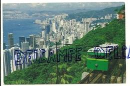 Chine. The Hong Kong Peak Tramway - Chine