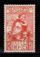 YV 428 N** Enfants De Chomeurs Cote 4,30 Euros - Nuovi