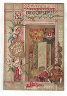 ALMANACCO ALMANACH  PRECO CORRENTE 1886  JERONYMO MARTINS & FILHO LISBOA ARMAZEM DE VIVERES - Calendars