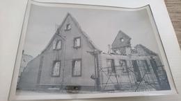 Photo 13x18 Haguenau 1944 Bonbardement Marxenhausen - Places