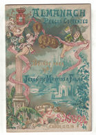 ALMANACCO ALMANACH  PRECO CORRENTE 1887  JERONYMO MARTINS & FILHO LISBOA  ARMAZEM DE VIVERES - Calendari