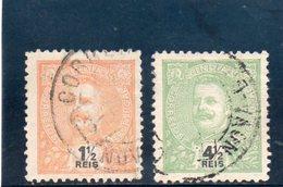 INDE 1898-1901 O - Inde Portugaise