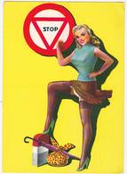 Très Jolie PIN-UP / 1962 / Faisant Du Stop... - Pin-Ups